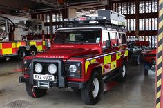 Land Rover Defender Utility Wagon Tdci Fire Service of Northern Ireland Specialist Rescue Vehicle