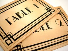 Table Numbers Set of 10 Wedding Vintage by simplyprettypieces, $45.00
