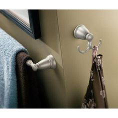 MOEN Banbury 24 In. Towel Bar In Spot Resist Brushed Nickel