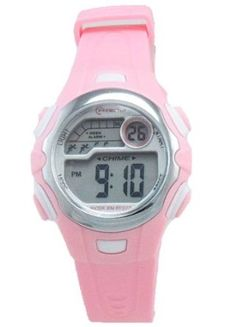 Girl's Sports Digital Watch, Pink Strap: Watches: Amazon.com