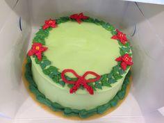Christmasbow cake :)