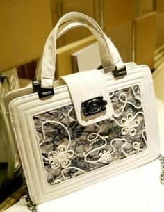 Casual Lace PU Leather Shoulder Bag For Women