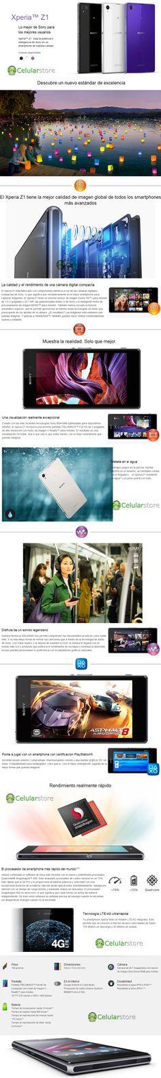comprar sony xperia z1 / venta de sony xperia z1 en argentina Sony Xperia, Android, Shopping, Argentina, Buenos Aires, Display