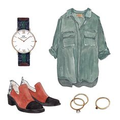 Good Objects - Mid season outfit #goodobjects