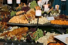 Stax Catering Cheese display greenville sc catering