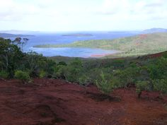 Paysage de Nouvelle Calédonie.
