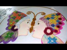 pareja de apaches mariposa - YouTube