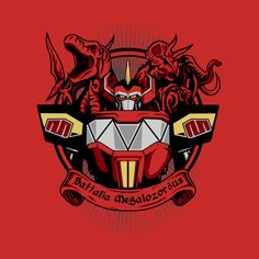 BATTALIA MEGALOZORDUS T-Shirt - Power Rangers T-Shirt is $12.99 today at Once Upon a Tee!