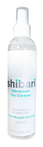 Shibari Advanced Antibacterial Toy Cleaner, 8oz Spray Bottle #Shibari #Advanced #Antibacterial #Cleaner, #Spray #Bottle