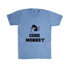 Code Monkey Coding Wifi Internet Nerd Computers Nerds Signal Online Connection Programmer Programming SGAL5 Unisex T Shirt