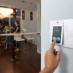 This smart hub replaces a standard light switch and can control your whole home.
