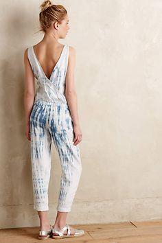 Makai Tie-Dye Jumpsuit - #anthrofave