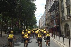 #Paris Team Rynkeby Nordjylland 2016 #TRN #paradekørsel
