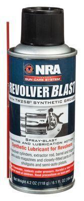 Mil-Comm NRA Revolver Blast TW25 Aerosol Lubricant