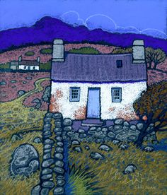 Chris Neale Studio - signed limited edition art prints and original artwork Abstract Landscape, Landscape Paintings, Art Pictures, Photos, Country Landscaping, Irish Art, Naive Art, Watercolor Illustration, Home Art