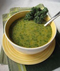Gęsta zupa z jarmużu i soczewicy