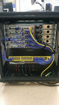 someone s home lab found on cisco s facebook page technology rh pinterest com Data Cable Wiring Residential Electrical Wiring Diagrams