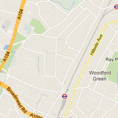 woodford green East London, Map, Spaces, Green, Location Map, Maps