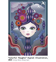 Soraya Matos, visual artist, artista visual, ilustradora, professora de ilustração digital. contato@sorayamatos.com.br