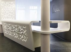 Leave It At The Reception Desk: A Corian Continent