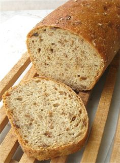 Recipe: Malted Wheat Flake Bread