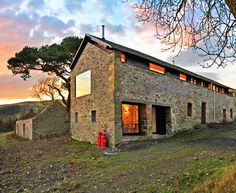 modern homes inside ruins, adaptive reuse, contemporary homes, sustainable homes, historic ruins home, homes rise from ruins, Buchner Bründler Architekten, WT Architecture, Sami Arquitectos, NRJA,