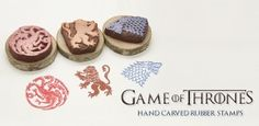 Game of Thrones Crafts: House Sigil Stamps