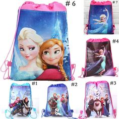 Functional Bags Hot Sale Disneys New Cartoon Elsa And Anna Frozen Lunch Bags Children Girls Mickey Mouse Bag Boys Car Spiderman For Children Elegant In Smell Lunch Bags