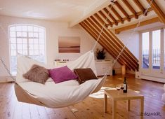 Inspiration: Suspended Beds