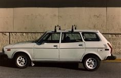 1979 Subaru wagon. Our first wagon as a new family