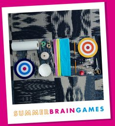 Design a parachute hands-on science activity from MSI's Summer Brain Games program.