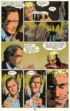 John Constantine, ladies and gents. Constantine Hellblazer, John Constantine, Book Cover Page, Cover Pages, Chaotic Neutral, Comic Book Covers, Vertigo, The Darkest, Dc Comics