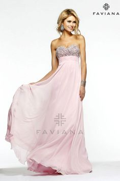 Faviana S7385 Beautiful #faviana #gown perfect for #prom or #nightout. Comes in multiple colors. #dress #cocktail #beautiful #evening #spring #ballgown #2014