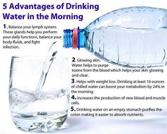 #Drink #water in the #morning. When you treat your system with what it needs, then you are much more likely to be able to fight off disease and flush the toxins out. Other interesting product information can be found here: http://www.juiceplus.co.uk/+kg44171