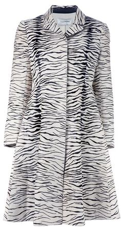 I could never pull off this Valentino Zebra Print, but ain't it cute though