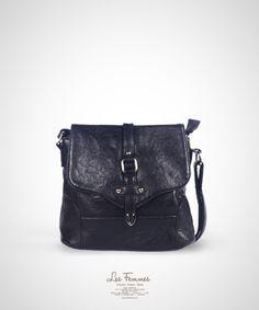 Rana Black Sling Bag 189,000 IDR #Fashion #Women #SlingBag shoping online find here http://www.lesfemmes.co.id/sling-bags/rana-black-sling-bag