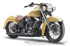 Harley-Davidson Softail Deluxe by Reed   Ultimate Motorcycling