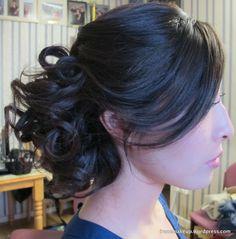 Soft Romantic Wedding Hair | 伦敦化妆师Chinese Makeup Artist | Asian Makeup Artist| Bridal ...