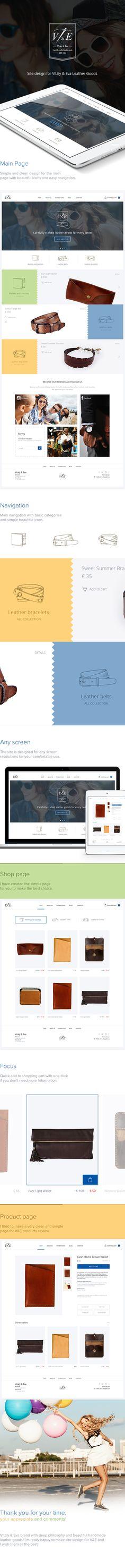 V&E Site Design on Web Design Served