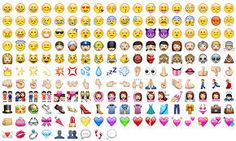 Emoticons emoji whatsapp