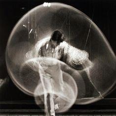 "Paul Himmel - Lilian Bassman ""Circus Swirl"", 1950-1954"