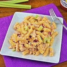 Buffalo Chicken Pasta Salad by mjohnmeyer