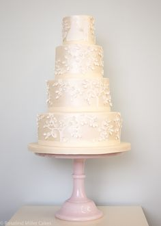 Fairytale Wedding Cake by Rosalind Miller Cakes - London