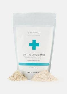 Digital Detox Bath Treatment from Rodale's #detox #bath