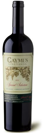 May be the best wine ever had!!!! Yum 10/5/15 ;)  Wagner Family of Wine - 2012 Caymus Special Selection Cabernet Sauvignon