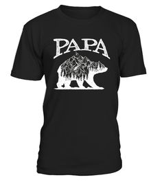 # Papa Bear Shirt with Double Exposure Gri .  Papa bear the walking dad best dad ever, dad, gift for father's day,beard, beard dad, bear papa, bear austim papa and son, papa and daughter, grandpa, best dad in the galaxy, walking dad, husband, daughter, son,papa the man the myth the legend,Thin red line - Firefighter fire man, firefighter, fire fighter dad, us fire rescue, ambulance, 911,daddy you are my super hero, super hero dad, awesome dad, best dad ever