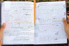 A glimpse into the journal of a (quite intelligent) 16 year old girl. Photographed, with permission, in Central Park.