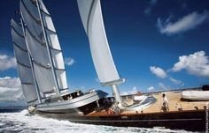 The world's largest sailing yacht. www.sailchecker.com