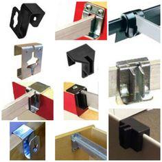Hanging File Bracket Clips For Hanging File Bars, File Rods U0026 File Folder  Frames In