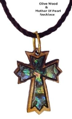 Olivewood & Mother of Pearl Ornate Latin Cross Necklace Women's Men's Spiritual Religious Jewelry V.S. Pendants and Necklaces http://www.amazon.com/dp/B00D4IDU8E/ref=cm_sw_r_pi_dp_zRqLub0G9978E
